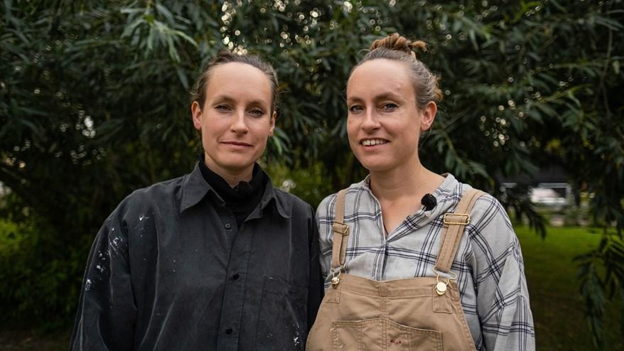 Sommerdrømme Maja og Lone - tvillingesøstre