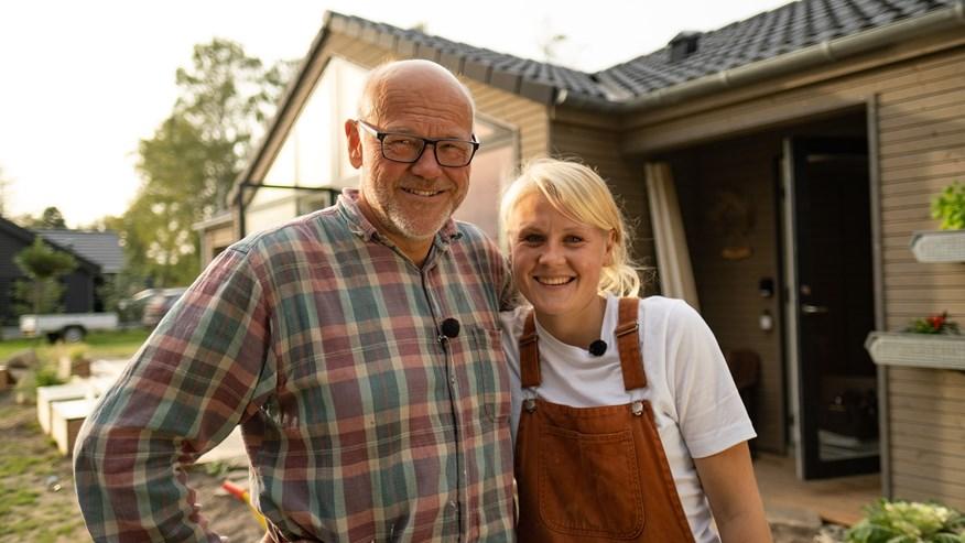 Sommerdrømme Ole og Anne - far og datter